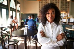 woman with common sense will lower restaurant operating costs